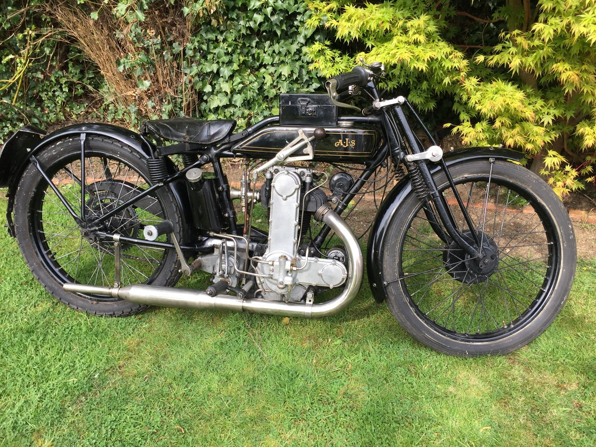 1928 AJS K 7 350cc Cammy For Sale (picture 1 of 6)