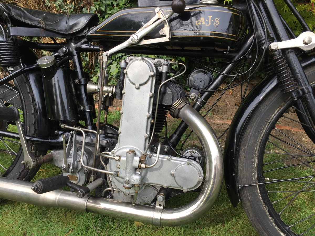 1928 AJS K 7 350cc Cammy For Sale (picture 2 of 6)