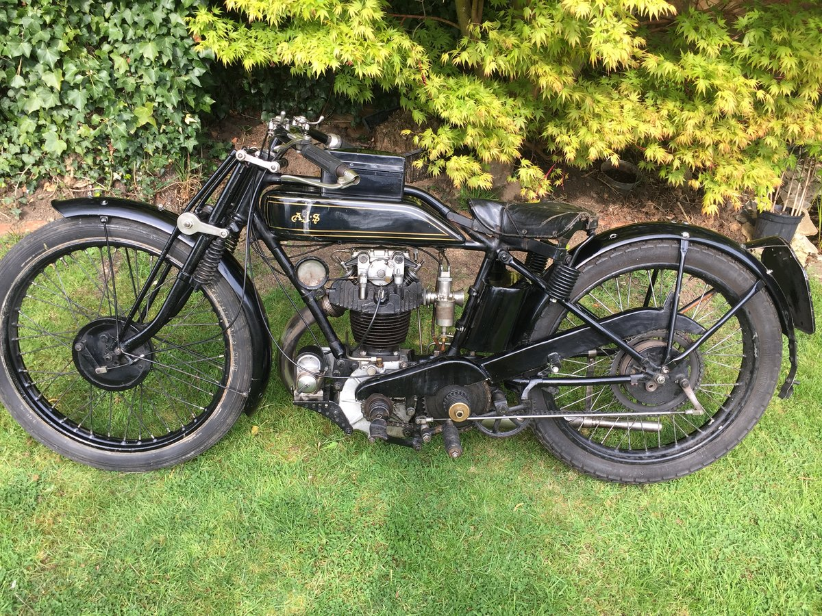 1928 AJS K 7 350cc Cammy For Sale (picture 4 of 6)