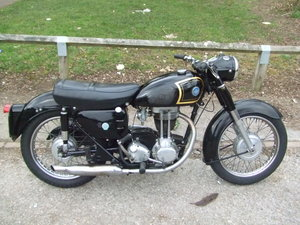 1959 AJS Model 16 (350cc) in good condition.