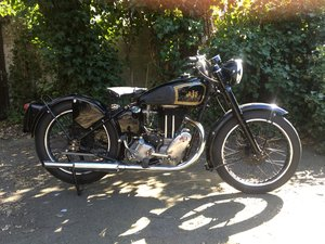 AJS MODEL 18 FOR SALE. RIGID FRAME. 1949