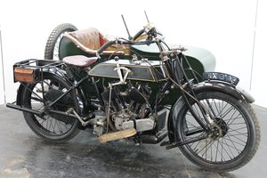AJS Model D Combination 1924 800cc 2 cyl sv For Sale