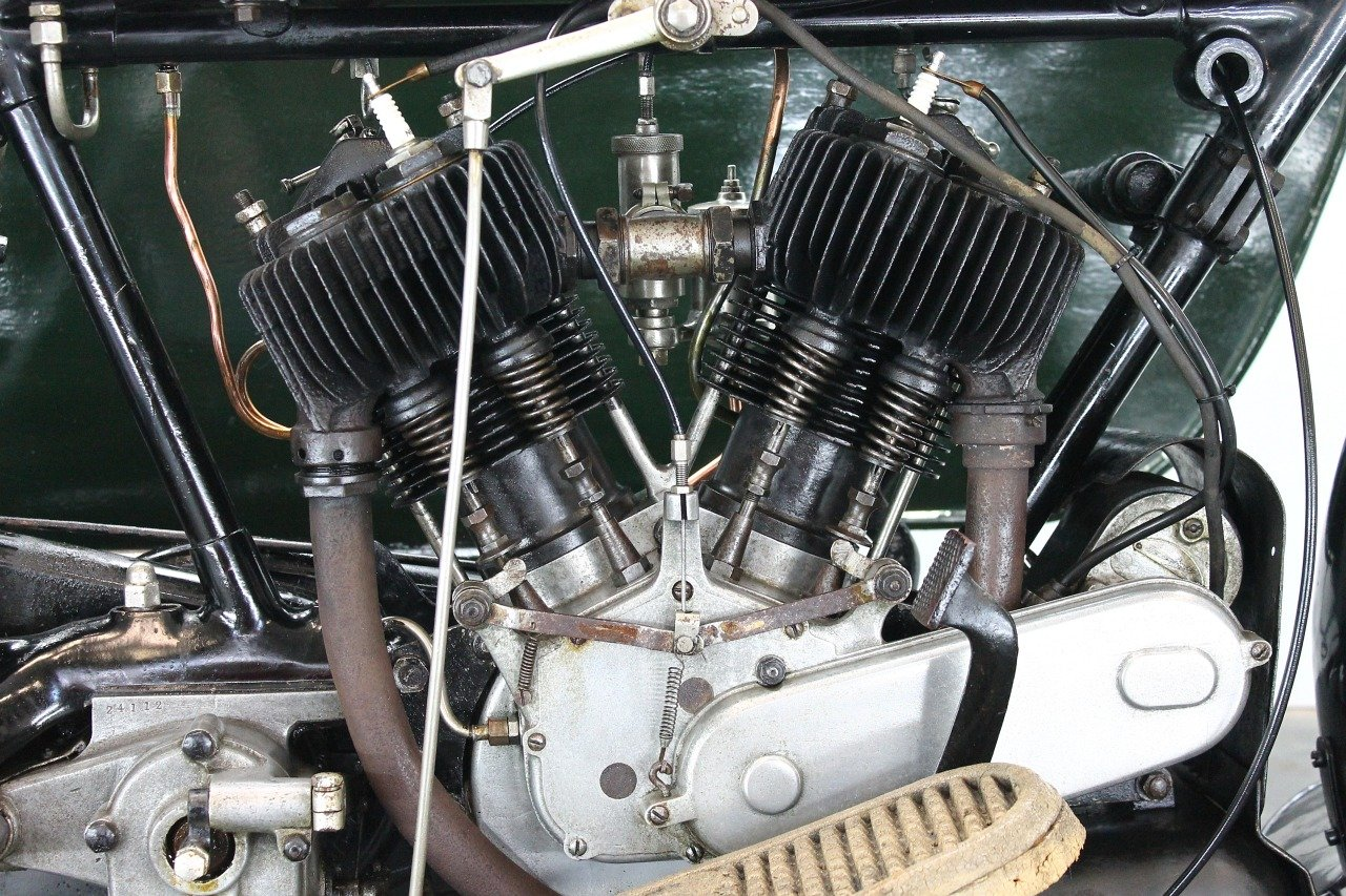 AJS Model D Combination 1924 800cc 2 cyl sv For Sale (picture 5 of 6)