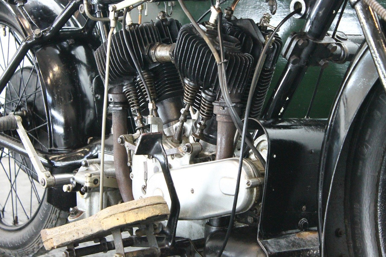 AJS Model D Combination 1924 800cc 2 cyl sv For Sale (picture 6 of 6)