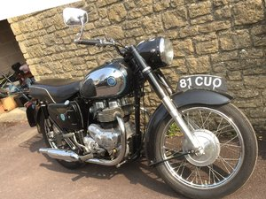 1959 AJS model 20 500cc twin motorcycle For Sale by Auction