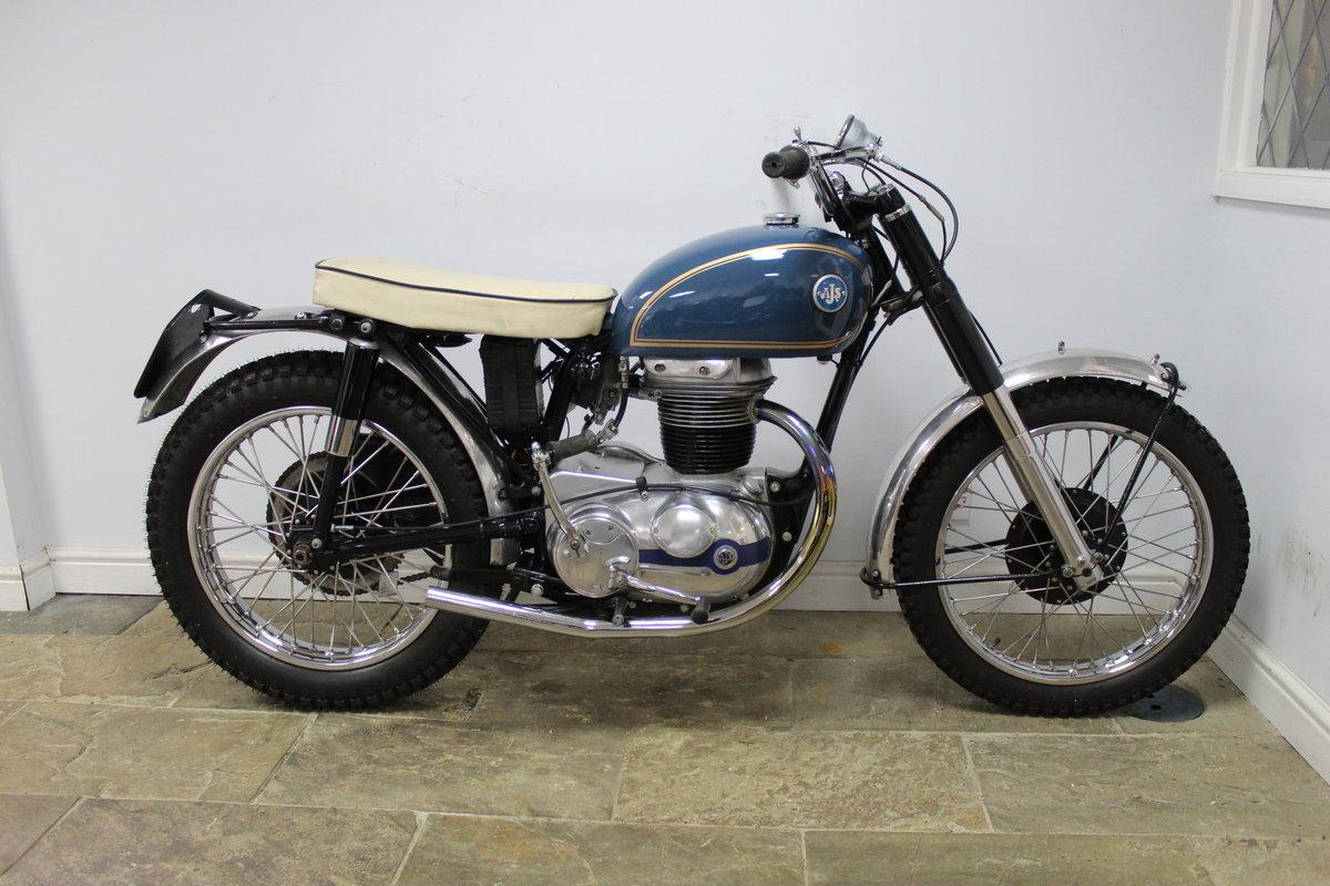 1959 AJS 250 cc Model 14 CS , Rare Factory Scrambler SOLD (picture 1 of 6)
