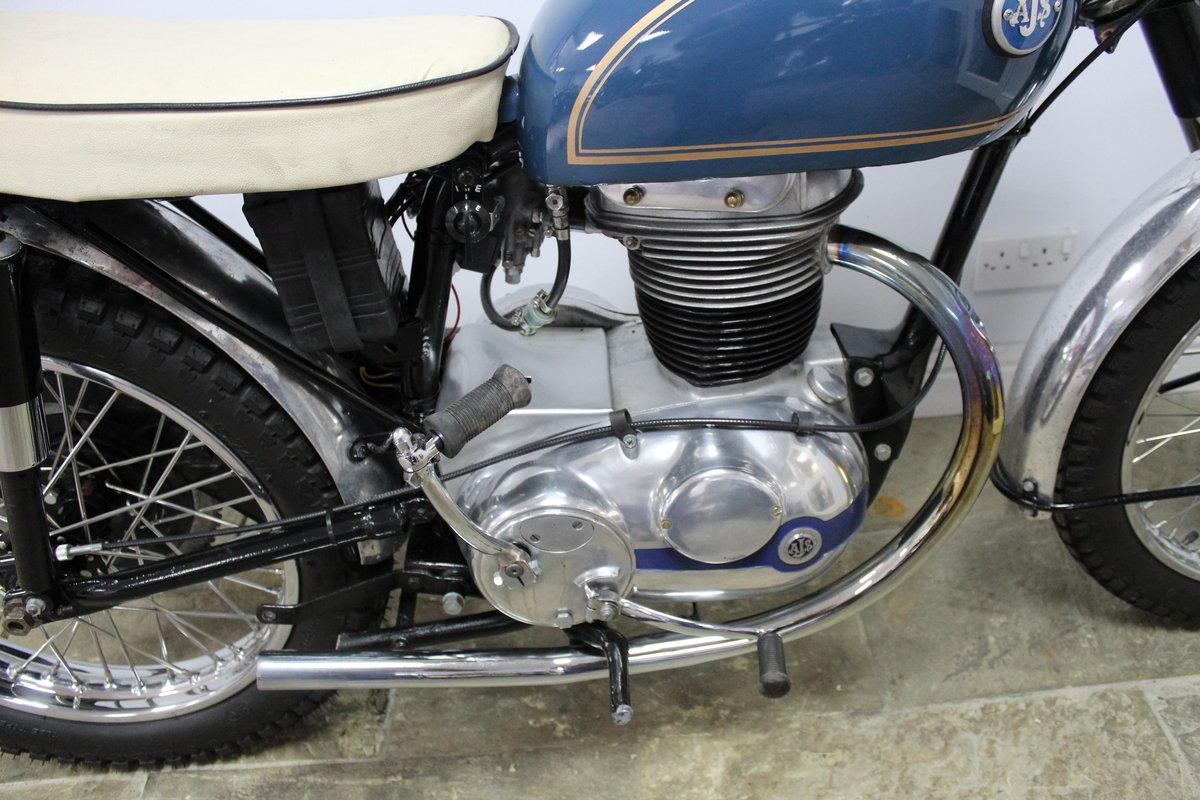 1959 AJS 250 cc Model 14 CS , Rare Factory Scrambler SOLD (picture 4 of 6)