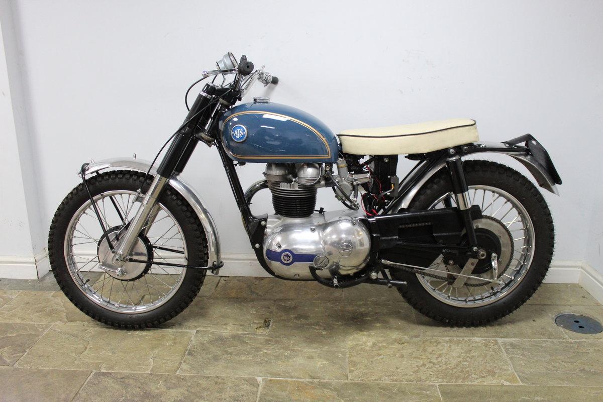 1959 AJS 250 cc Model 14 CS , Rare Factory Scrambler SOLD (picture 5 of 6)