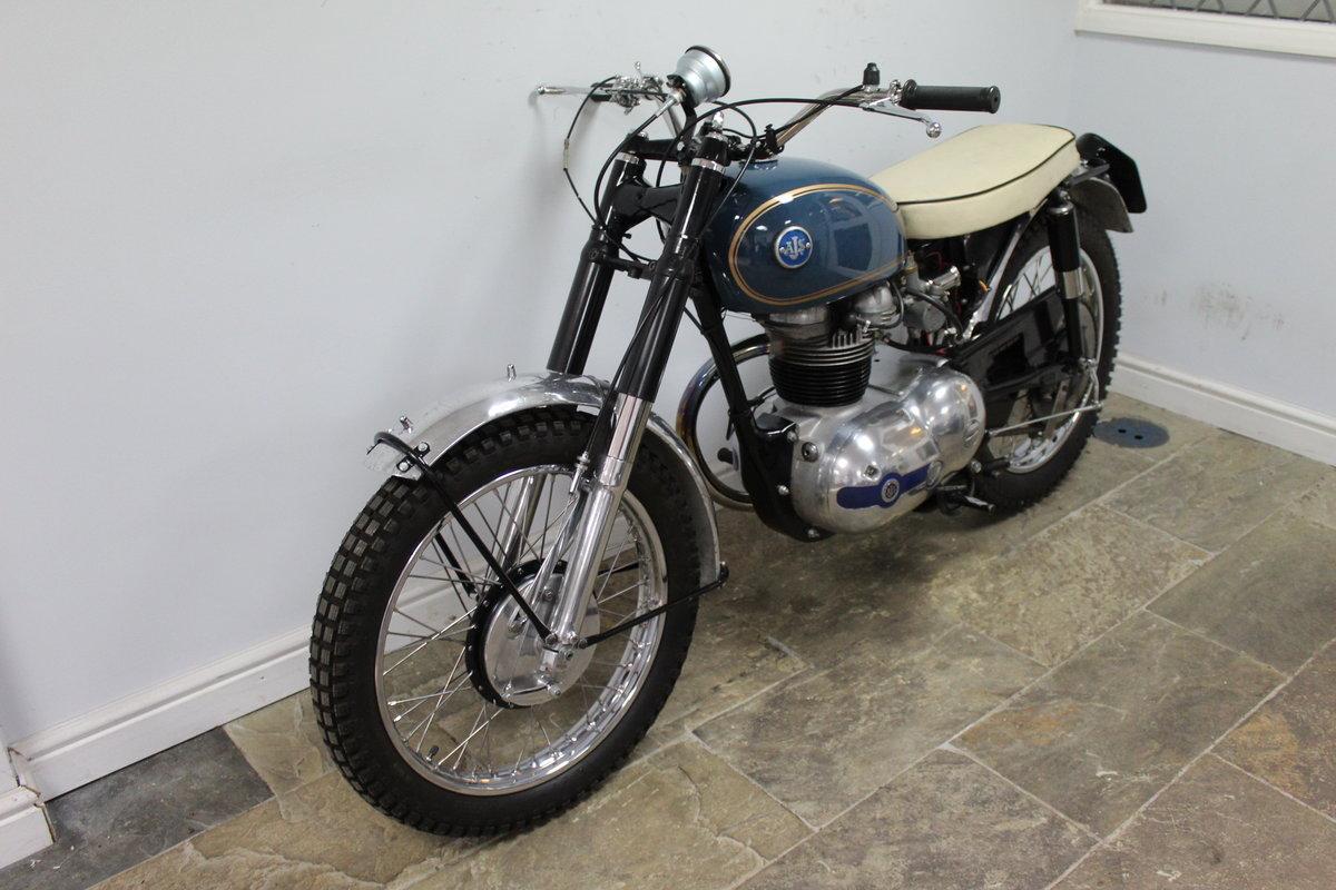 1959 AJS 250 cc Model 14 CS , Rare Factory Scrambler SOLD (picture 6 of 6)