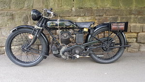 1928 AJS Big Port fantastic original condition