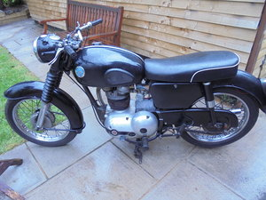 1959 Ajs 350cc nice original bike