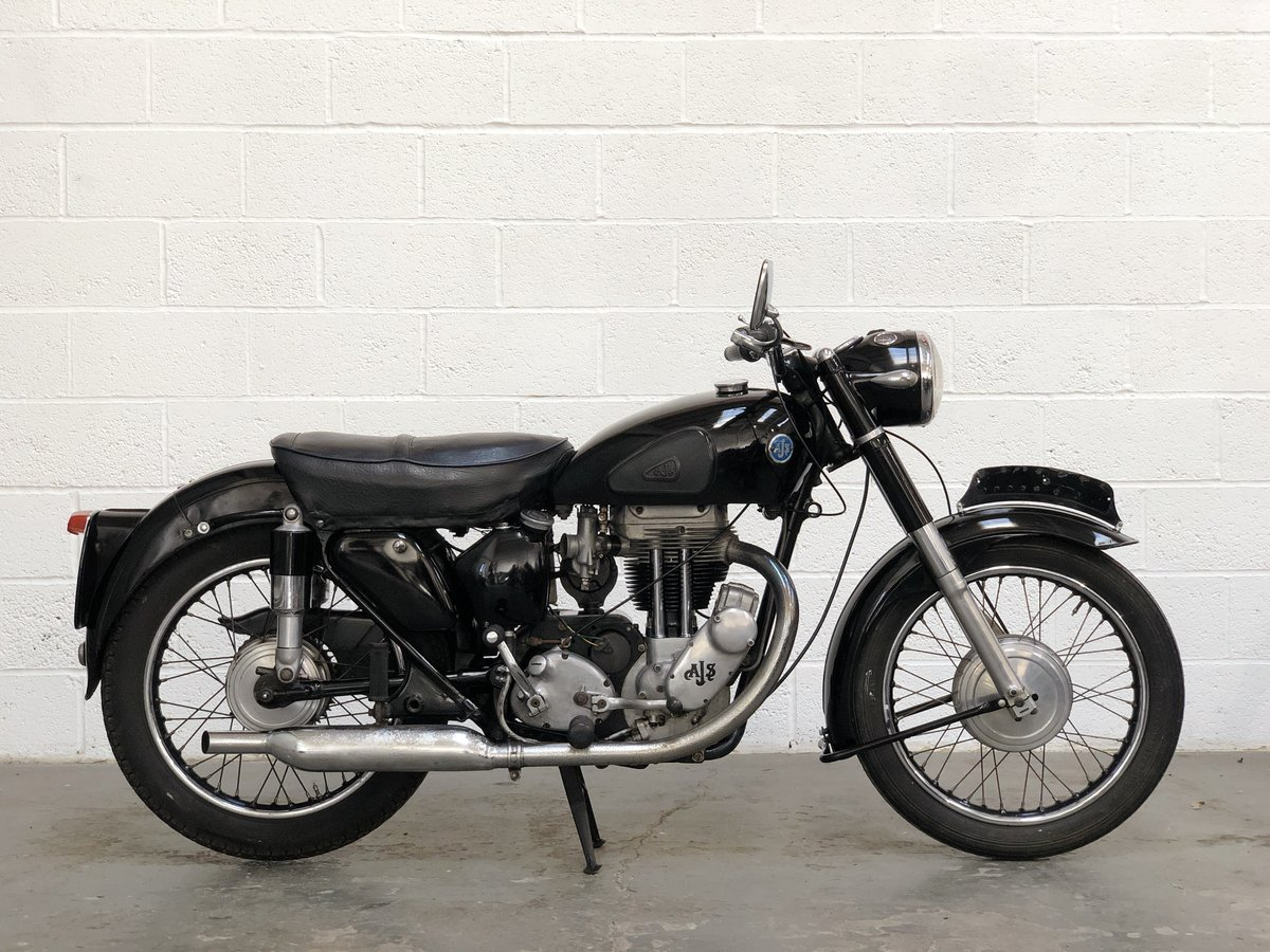 AJS 18S 1955 500cc Jampot For Sale | Car And Classic