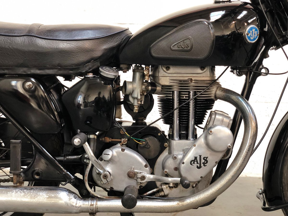 AJS 18S 1955 500cc Jampot For Sale (picture 3 of 6)