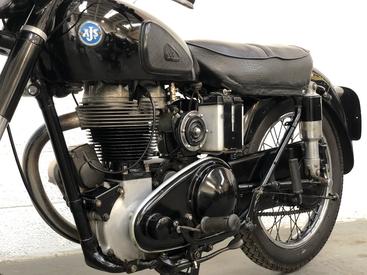 AJS 18S 1955 500cc Jampot For Sale (picture 4 of 6)
