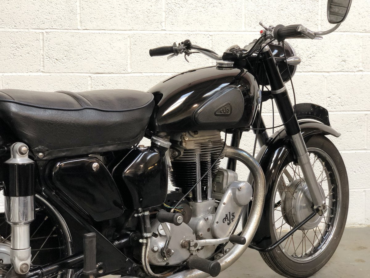 AJS 18S 1955 500cc Jampot For Sale (picture 5 of 6)