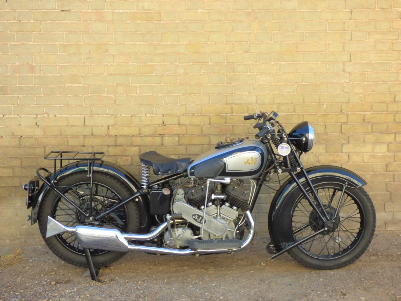 1937 AJS Model 2A V Twin 990cc For Sale (picture 1 of 6)