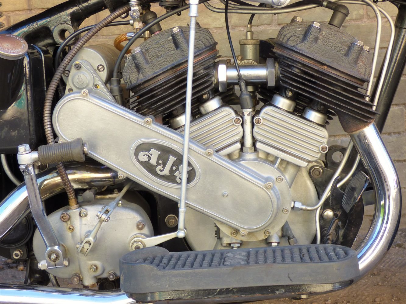 1937 AJS Model 2A V Twin 990cc For Sale (picture 3 of 6)