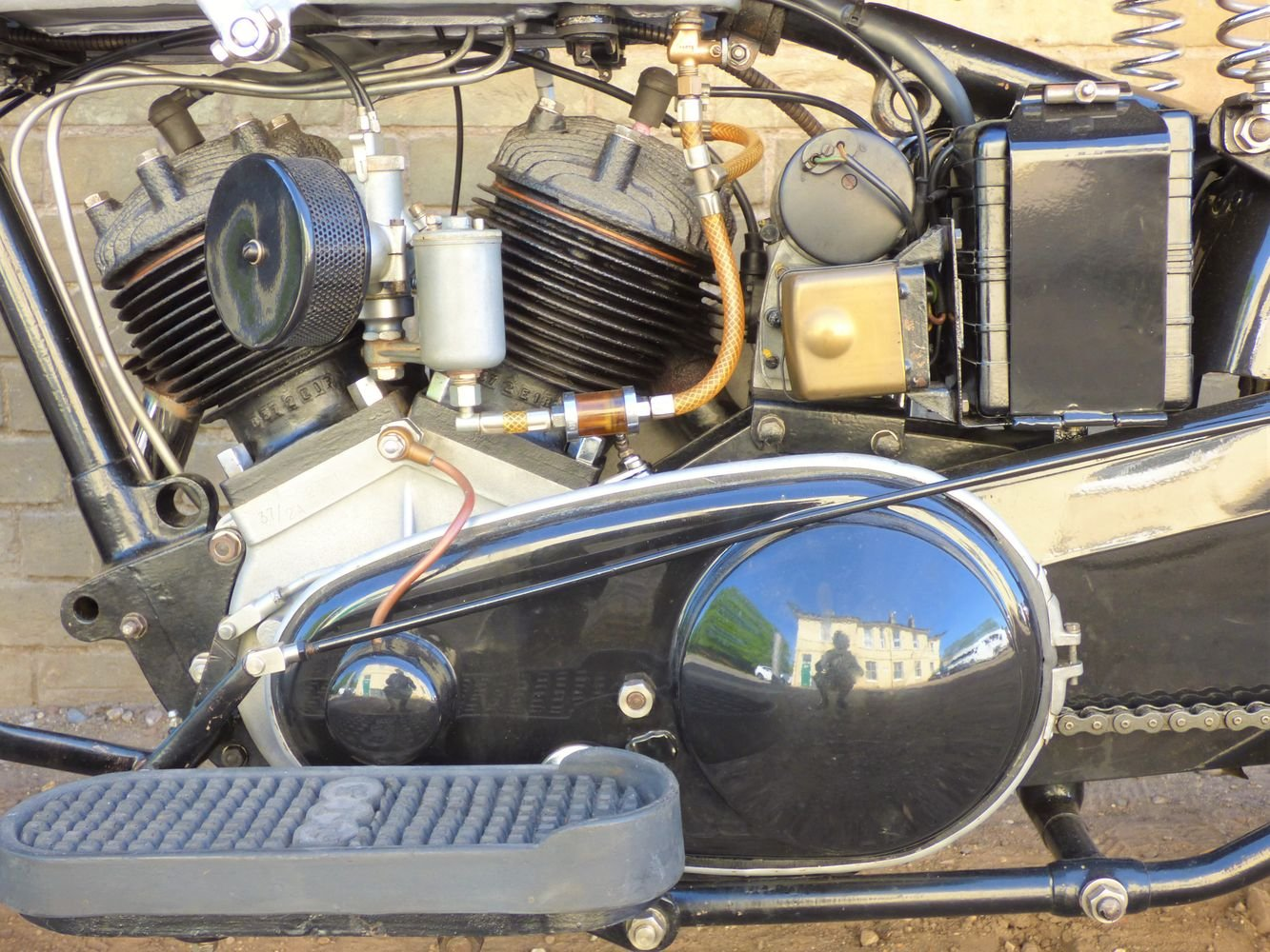 1937 AJS Model 2A V Twin 990cc For Sale (picture 4 of 6)