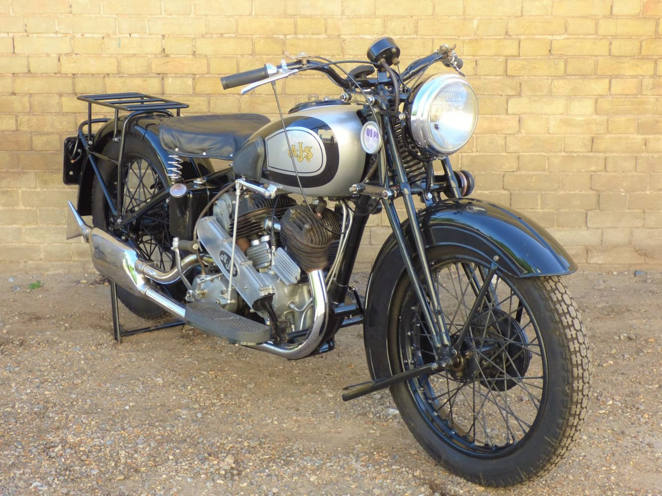 1937 AJS Model 2A V Twin 990cc For Sale (picture 6 of 6)