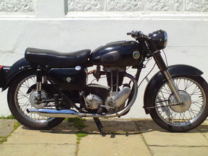 1962 AJS MODEL 16 16MS SOLD