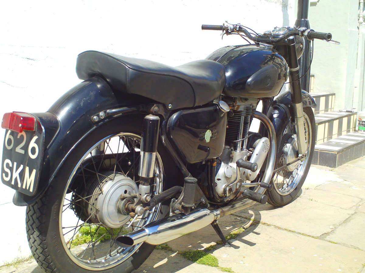1962 AJS MODEL 16 16MS SOLD (picture 2 of 6)