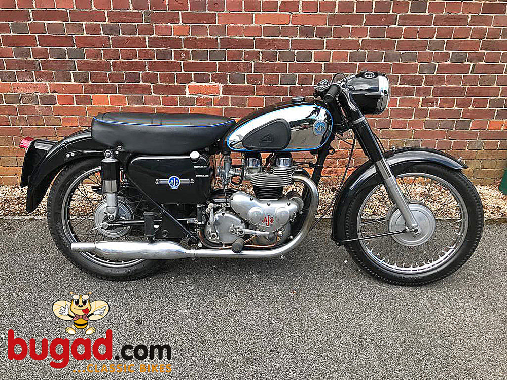 AJS Model 20 - 1956 500cc M20 Twin, Recent Engine Rebuild For Sale (picture 1 of 6)