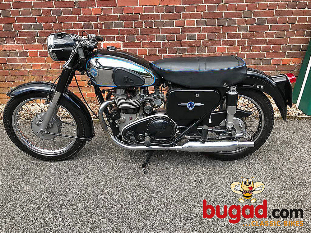 AJS Model 20 - 1956 500cc M20 Twin, Recent Engine Rebuild For Sale (picture 2 of 6)