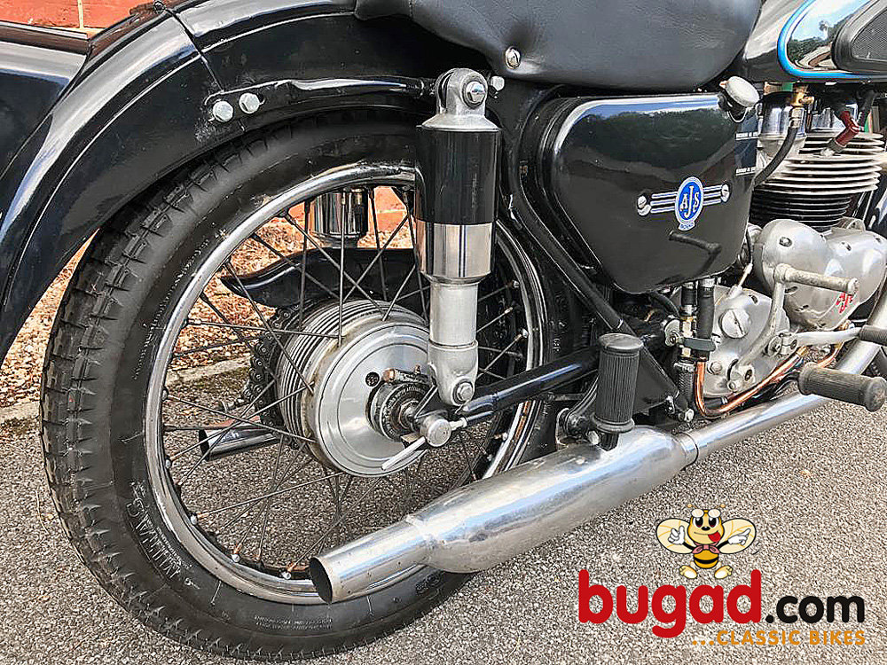 AJS Model 20 - 1956 500cc M20 Twin, Recent Engine Rebuild For Sale (picture 4 of 6)