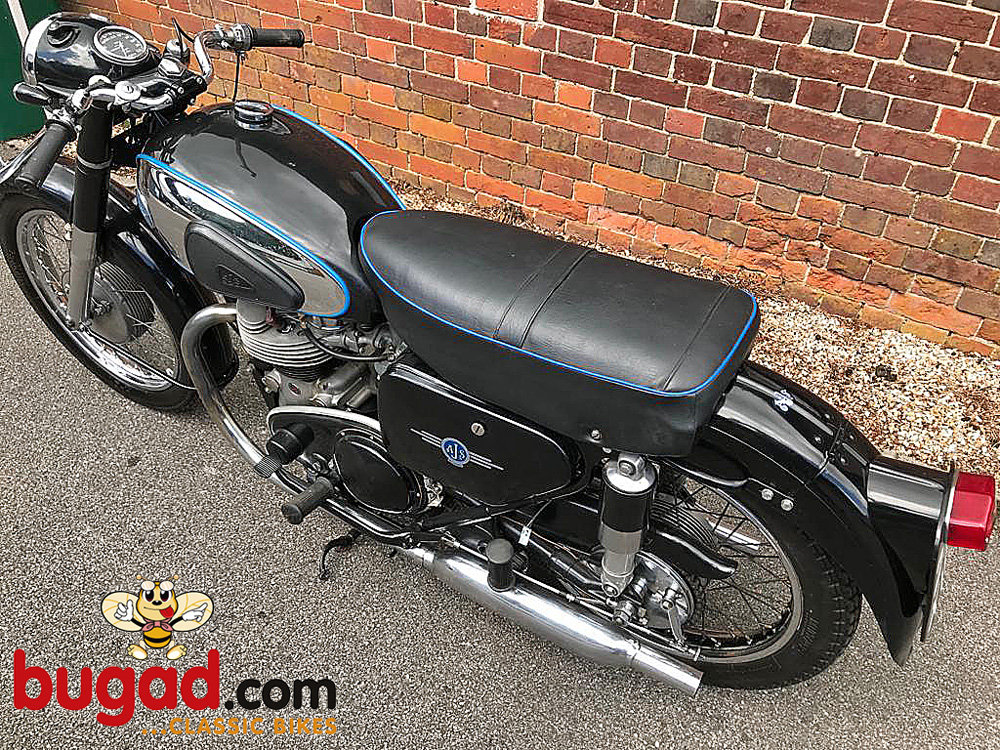 AJS Model 20 - 1956 500cc M20 Twin, Recent Engine Rebuild For Sale (picture 5 of 6)
