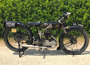 1926 AJS - Sport Luxus H4 For Sale