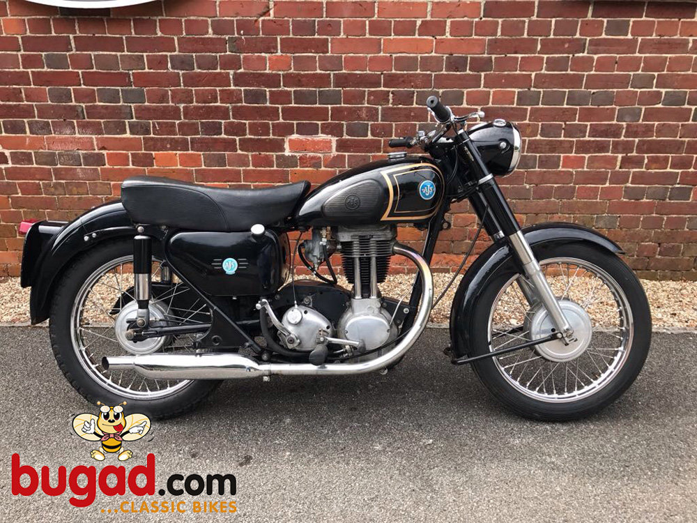 1957 AJS 16MS - 350cc Thumper, Alternator Model For Sale (picture 1 of 6)