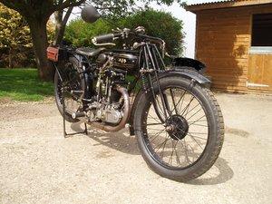 1925 AJS BIG PORT 350cc