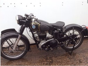 1951 Ajs model 18 rigid frame For Sale