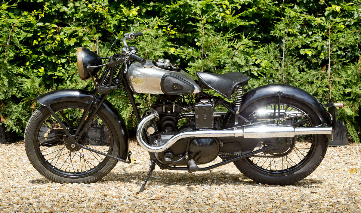 1935 AJS 250 Twinport with super patina Lovely original SOLD (picture 2 of 6)