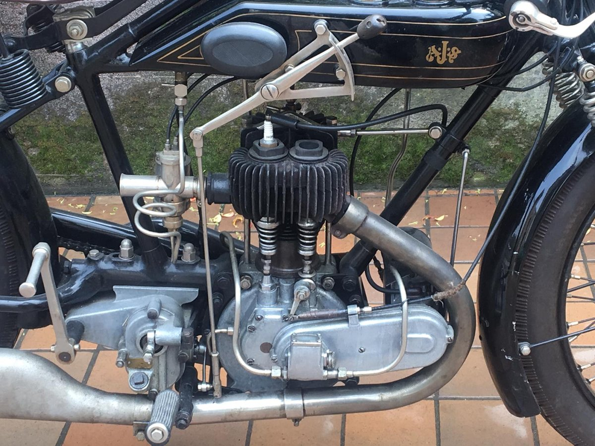 1925 AJS 350 SPORT For Sale (picture 3 of 6)