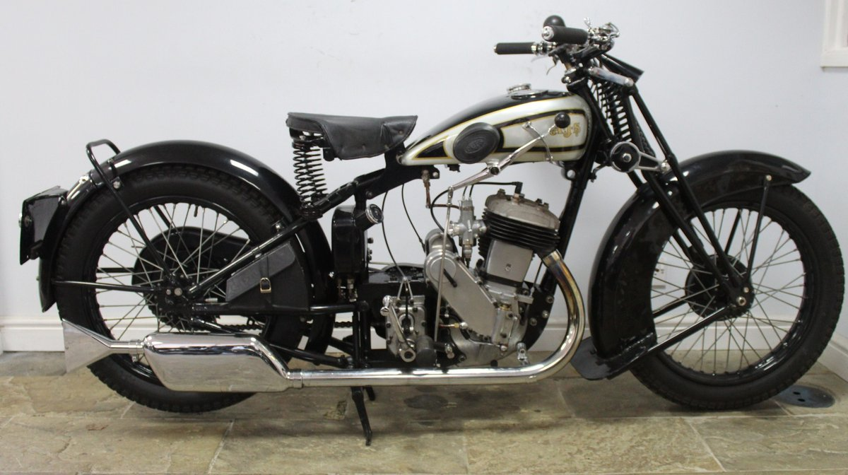 1931 AJS S9/H 500 cc Single Matching Engine And Frame Number For Sale (picture 1 of 6)