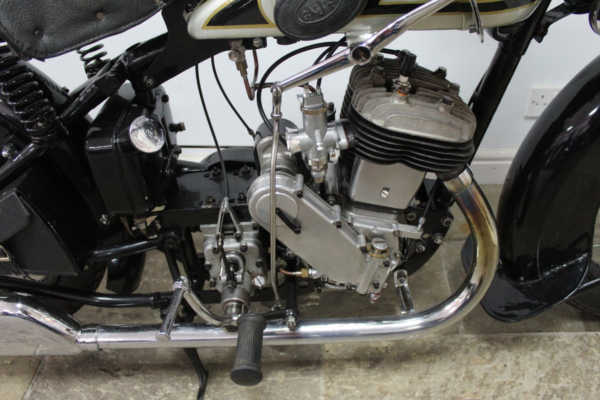1931 AJS S9/H 500 cc Single Matching Engine And Frame Number For Sale (picture 3 of 6)