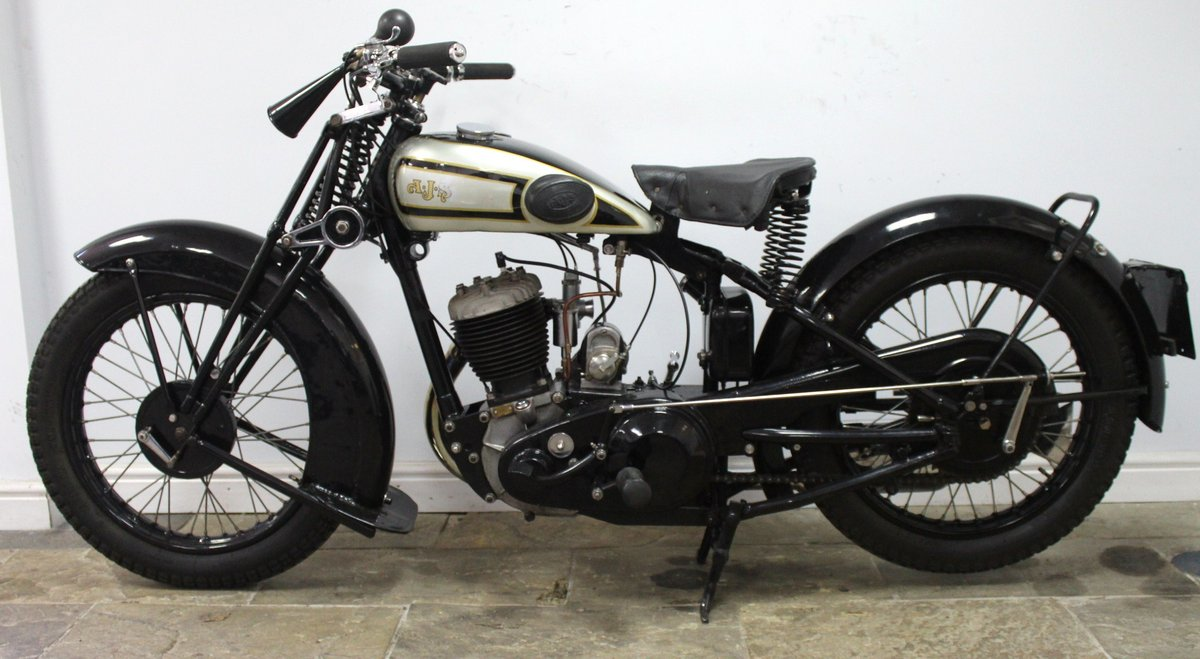 1931 AJS S9/H 500 cc Single Matching Engine And Frame Number For Sale (picture 4 of 6)