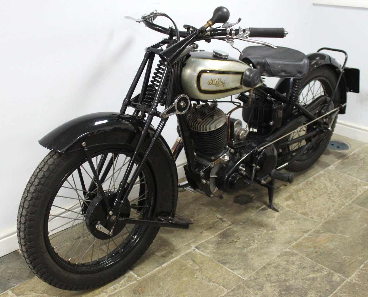 1931 AJS S9/H 500 cc Single Matching Engine And Frame Number For Sale (picture 5 of 6)