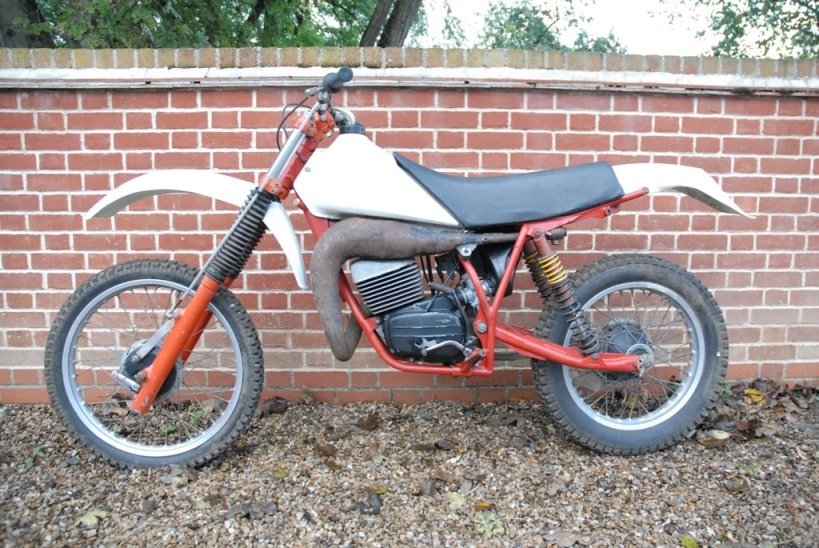 1981 Works prototype FB-AJAY AJS motocross / enduro For Sale (picture 1 of 6)