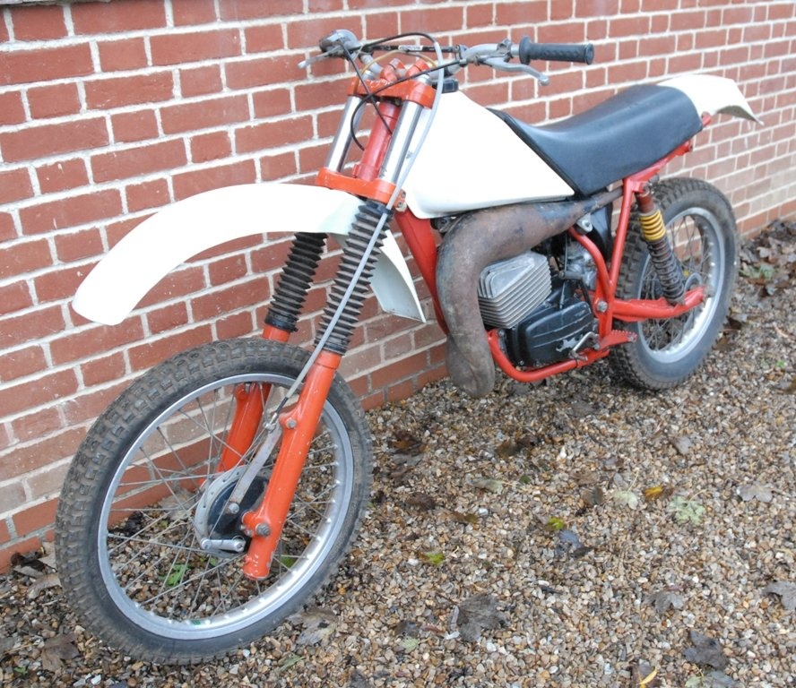 1981 Works prototype FB-AJAY AJS motocross / enduro For Sale (picture 2 of 6)