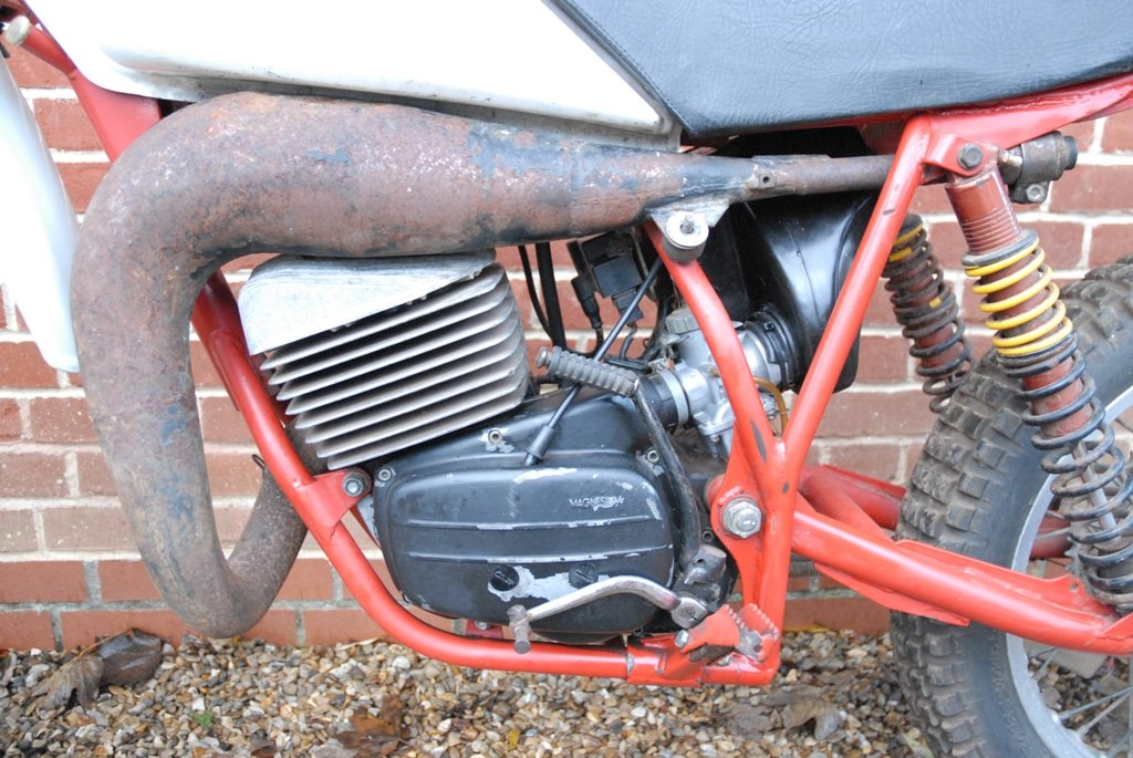 1981 Works prototype FB-AJAY AJS motocross / enduro For Sale (picture 3 of 6)