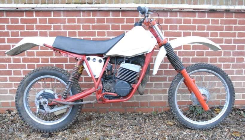1981 Works prototype FB-AJAY AJS motocross / enduro For Sale (picture 4 of 6)