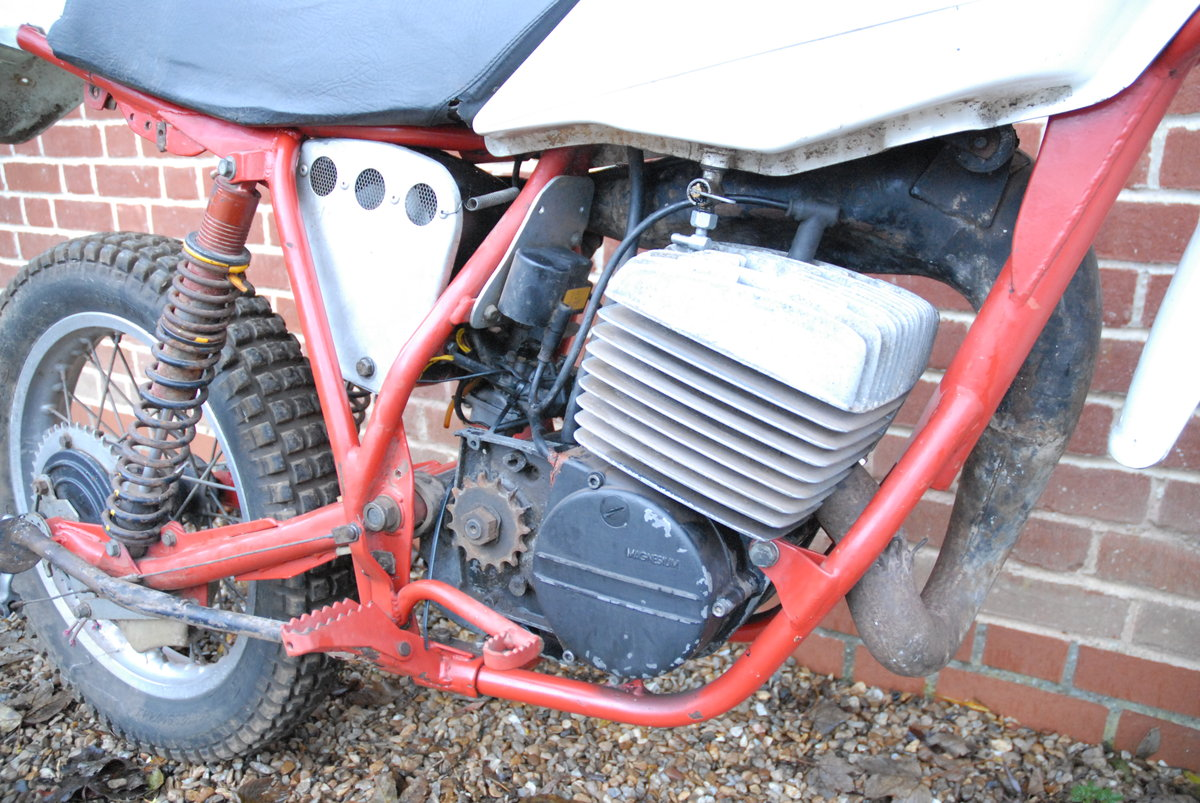 1981 Works prototype FB-AJAY AJS motocross / enduro For Sale (picture 5 of 6)
