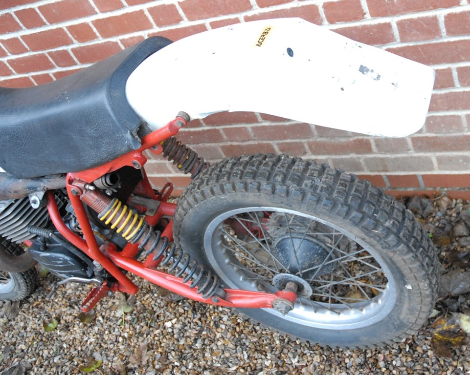 1981 Works prototype FB-AJAY AJS motocross / enduro For Sale (picture 6 of 6)