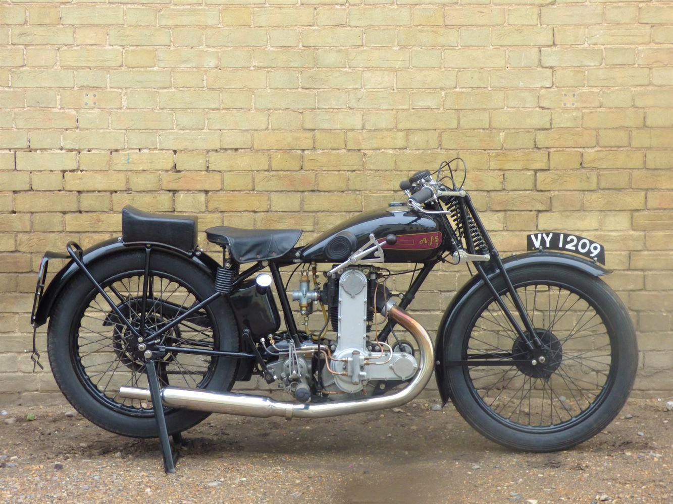 1929 AJS Model M7 350cc OHC For Sale (picture 1 of 6)