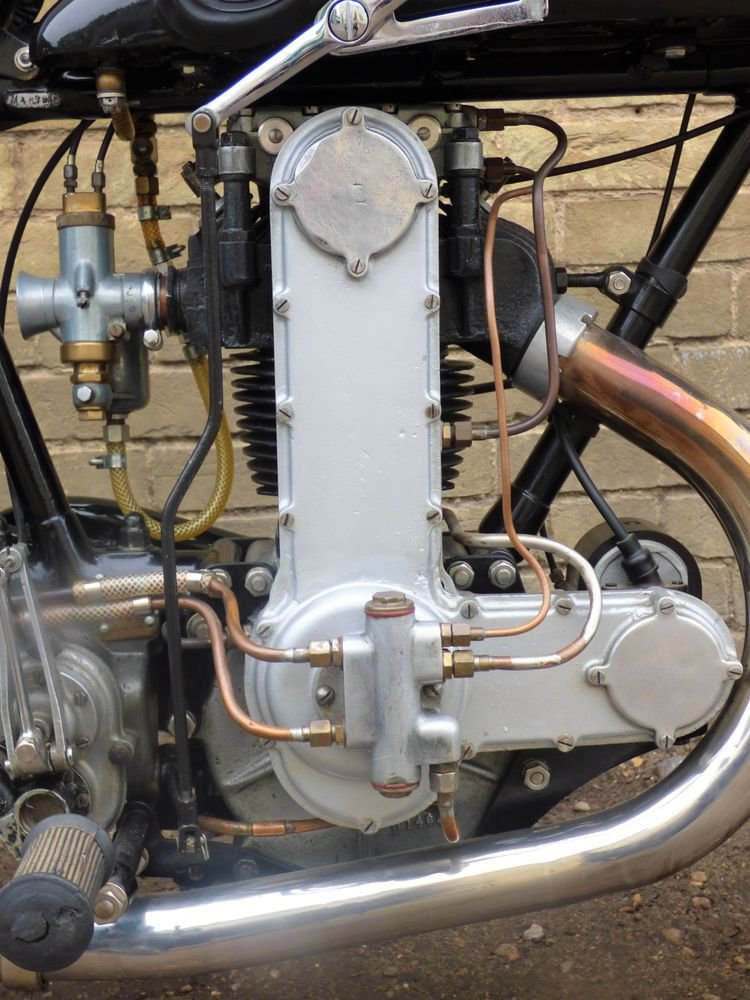 1929 AJS Model M7 350cc OHC For Sale (picture 3 of 6)