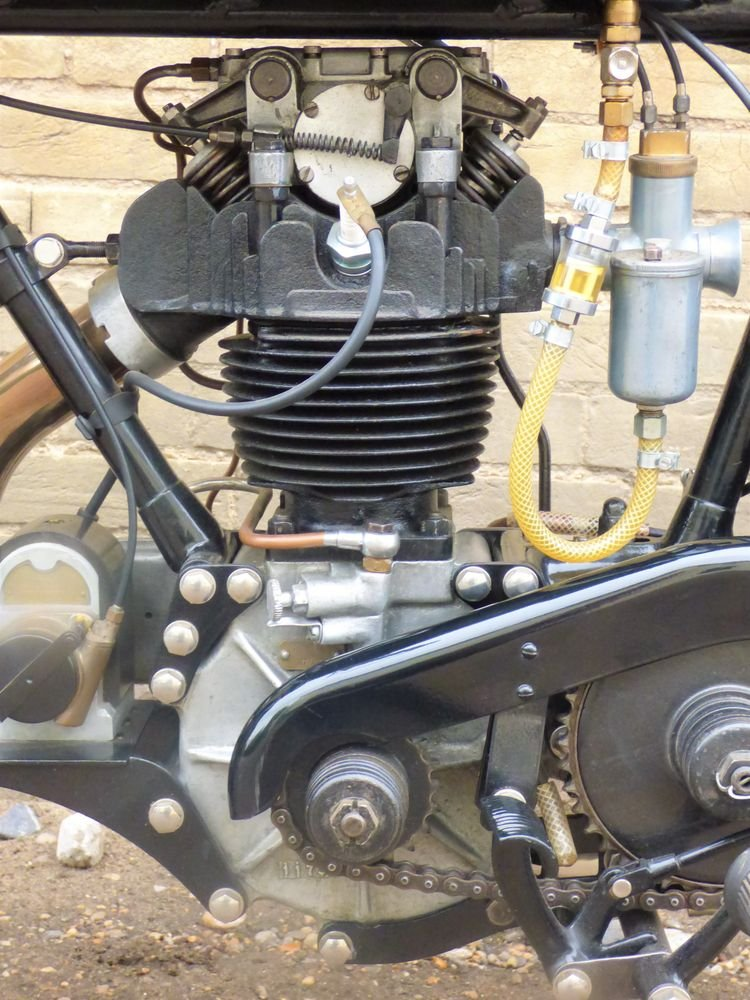 1929 AJS Model M7 350cc OHC For Sale (picture 4 of 6)
