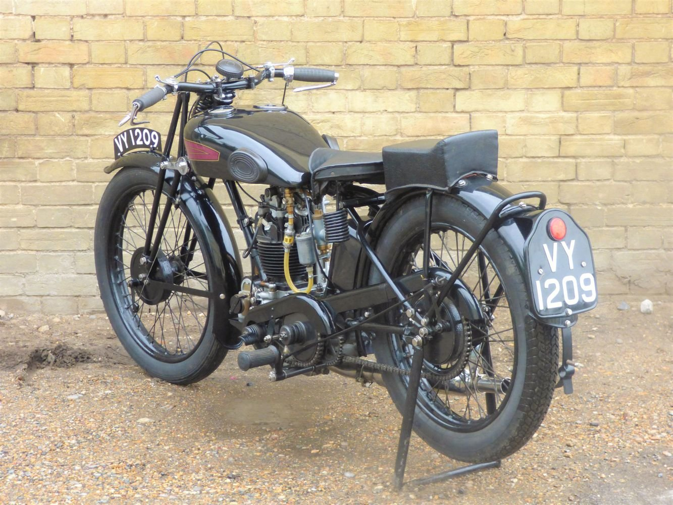 1929 AJS Model M7 350cc OHC For Sale (picture 5 of 6)