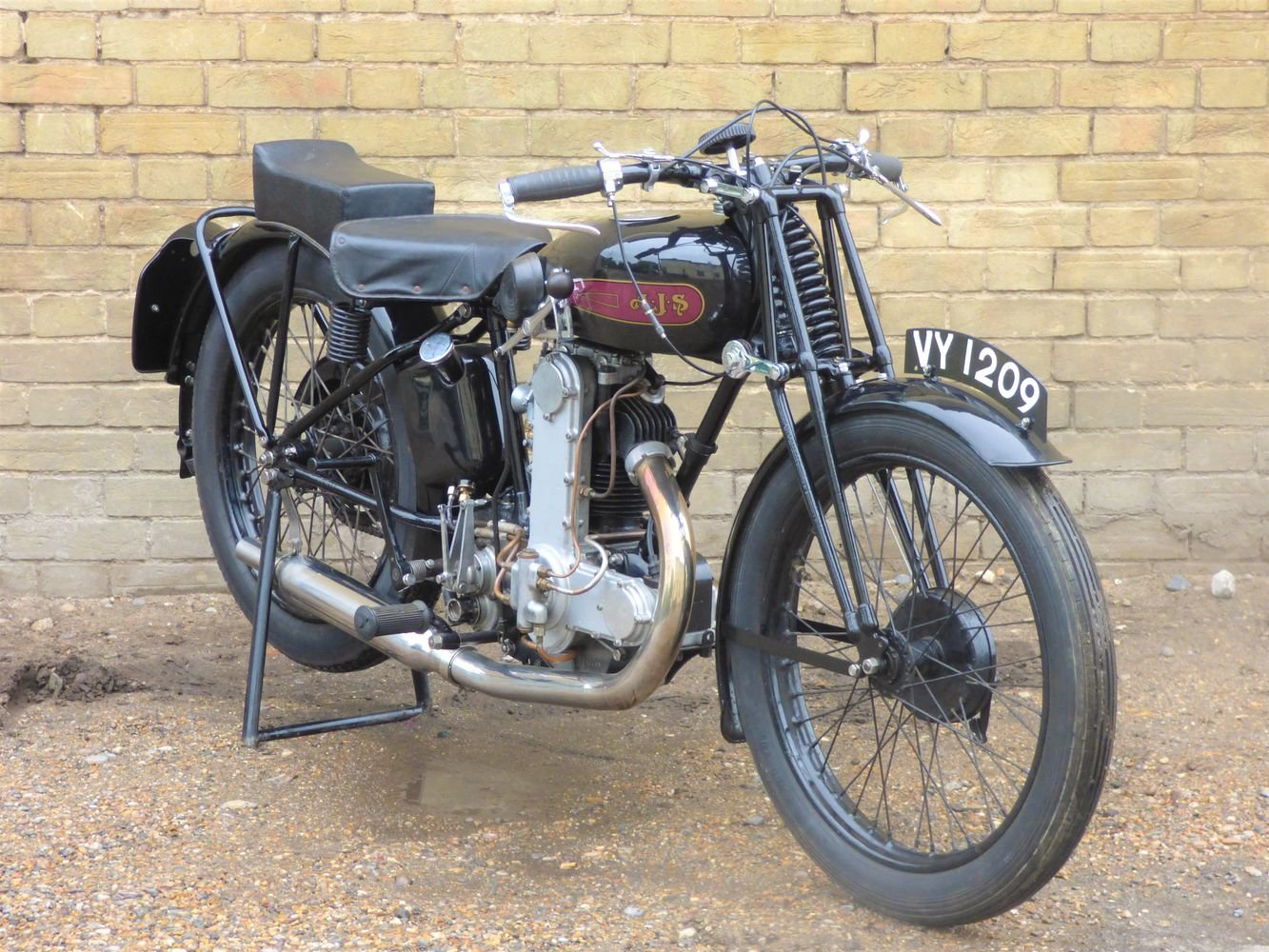 1929 AJS Model M7 350cc OHC For Sale (picture 6 of 6)
